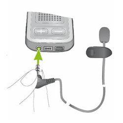 Phonak MC1 External Lapel Microphone for Com Pilot