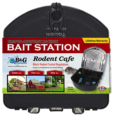 B&G Equipment 25000261 Rodent Bait Station by B&G EQUIPMENT