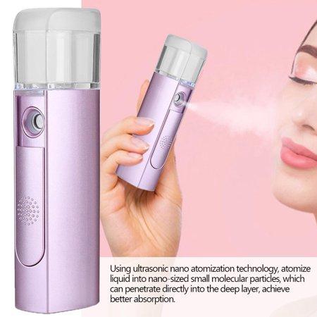 Garosa 22ML Handheld Nano Facial Mist Spray Spray Hydratant Hydratant Humidificateur Mister, Atomisation Sprayer, Nano Sprayer - image 1 de 8