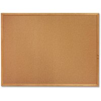 "Sparco Cork Bulletin Board, 18"" x 24"", Oak Wood Frame"
