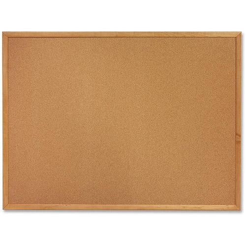 "Sparco Oak Wood Frame Cork Bulletin Board, 18"" x 24 ..."