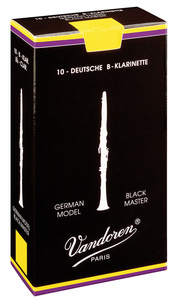 10 Pack of Vandoren Black Master Clarinet Reeds 3 by Vandoren