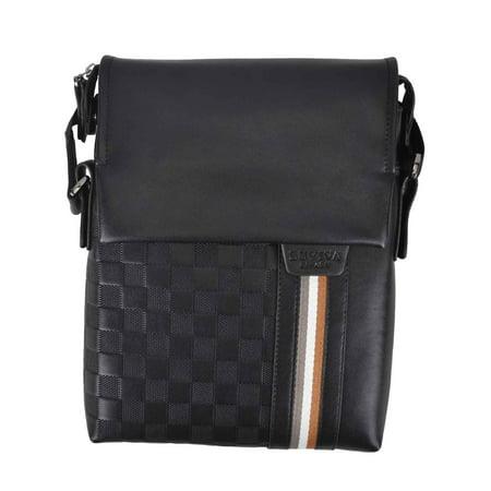 Men's Leather Shoulder Messenger Bag Satchel Business Briefcase Bag Handbag