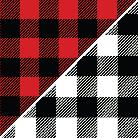 David Textiles Anti Pill Fleece Buffalo Plaid Fabric By The Yard 60 Wide