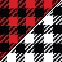 "David Textiles Fleece 36"" x 60"" Anti-Pill Buffalo Plaid Fabric, 1 Each"
