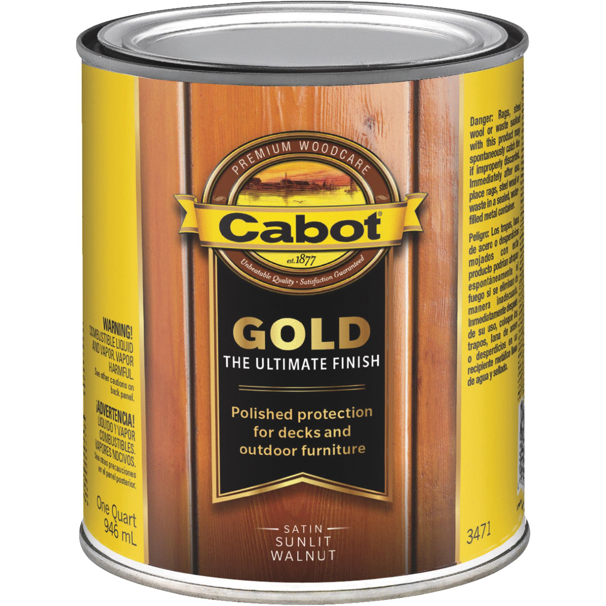 Cabot Gold Exterior Stain