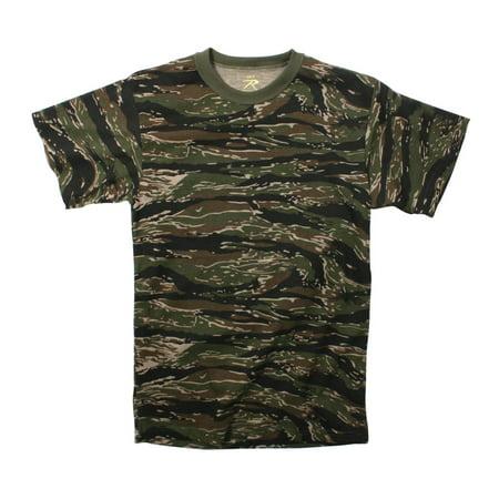Tiger Stripe Camouflage T-shirt (Como Stripe)