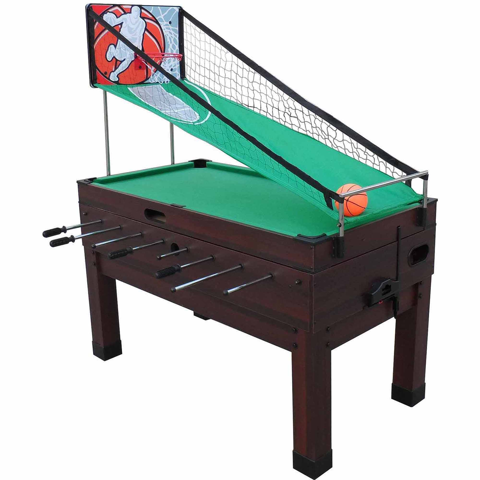 Playcraft Danbury Espresso 14-In-1 Combination Game Table