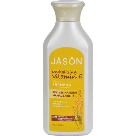Jason Vitamin E with A and C Shampoo - 16 fl oz Jason Organic Lavender Shampoo