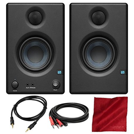 Acoustic Monitor (PreSonus Eris E3.5 3.5 Professional Multimedia Reference Monitors with Acoustic Tuning Pair and Basic Accessory)