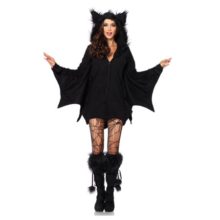 Plus Size Cozy Bat Adult Costume