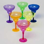 DDI 1175868 Plastic Margarita Glass 12 Ounces Case of 48 by Margarita Glasses