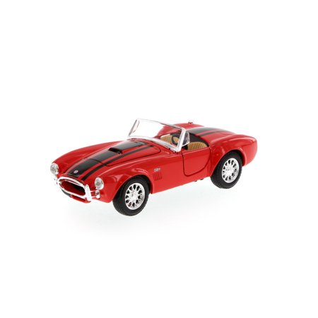 Shelby Cobra Convertible (1965 Shelby Cobra 427 Convertible, Red - Maisto 34276 - 1/24 Scale Diecast Model Toy Car (Brand New, but NOT IN BOX) )
