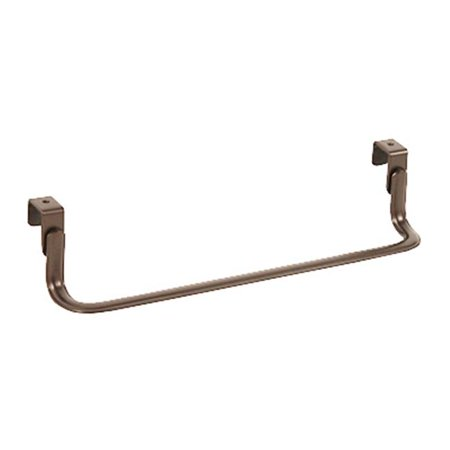 - 60124 Over The Cabinet Or Drawer Single Towel Bar, Bronze