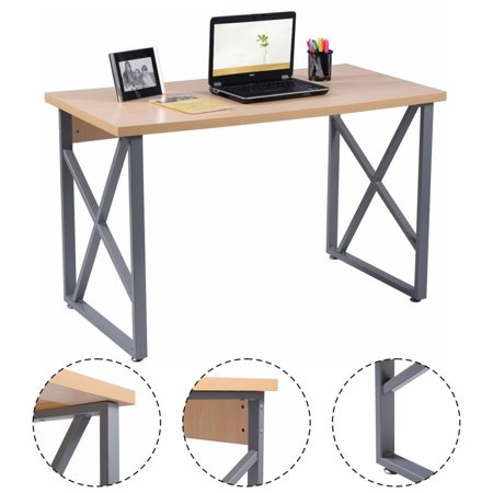 Costway Computer Desk Pc Laptop Table Writing Study Workstation Home Office Furniture