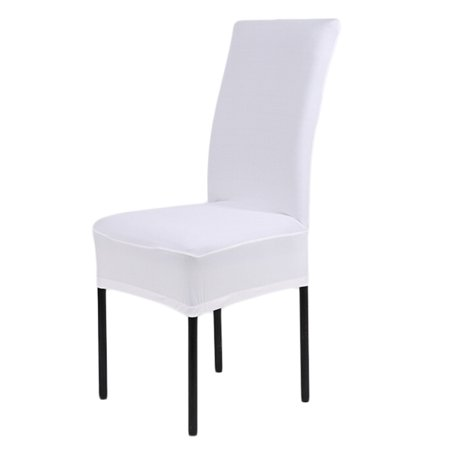 Groovy Stretch Dining Room Chair Slipcovers Washable Chair Covers Home Decor Set Of 4 White Pabps2019 Chair Design Images Pabps2019Com
