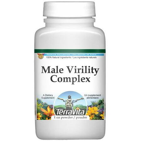 Virilité masculine Complex Powder - muira puama, Schizandra, le ginseng de Sibérie, le Ginkgo Biloba (1 oz, ZIN: 511973)