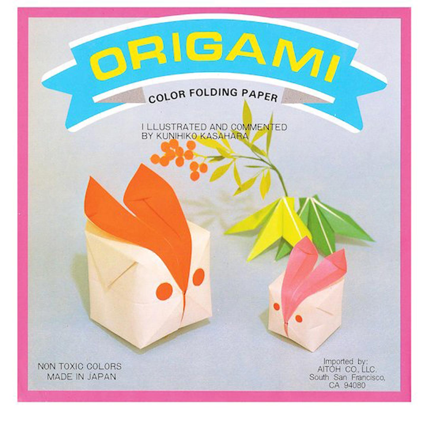 Aitoh Origami Paper: Solids, 300 sheets