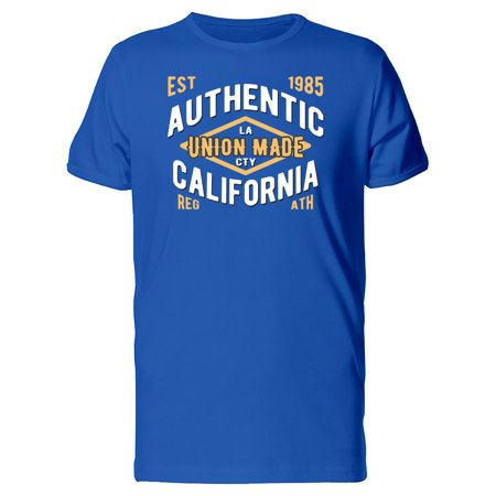 Authentic Mate - Authentic Union Made California Tee Men's -Image by Shutterstock