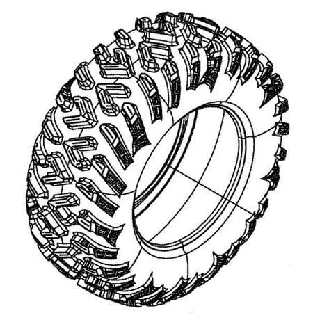 Can-Am 2017 17 Outlander Max 650 850 1000 ATV Rear Tire