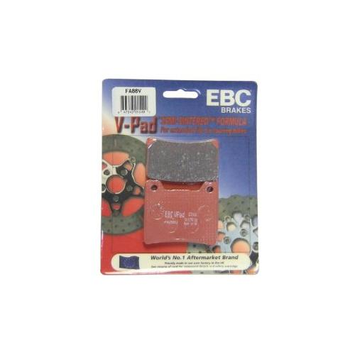 EBC Semi Sintered V Brake Pads Front (2 sets Required) Fits 86-87 Yamaha FJ1200