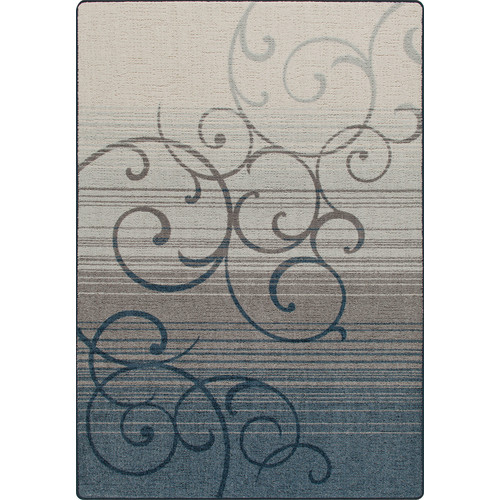 Milliken Mix and Mingle Bluestone Whispering Wind Rug