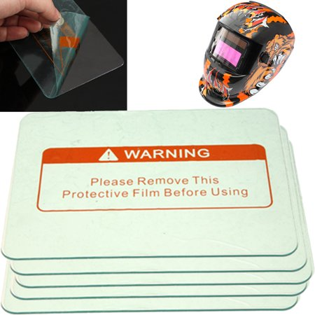 5PACKS Welding Cover Lens Protect Plate 4.5'' x 3.5'' For Welding