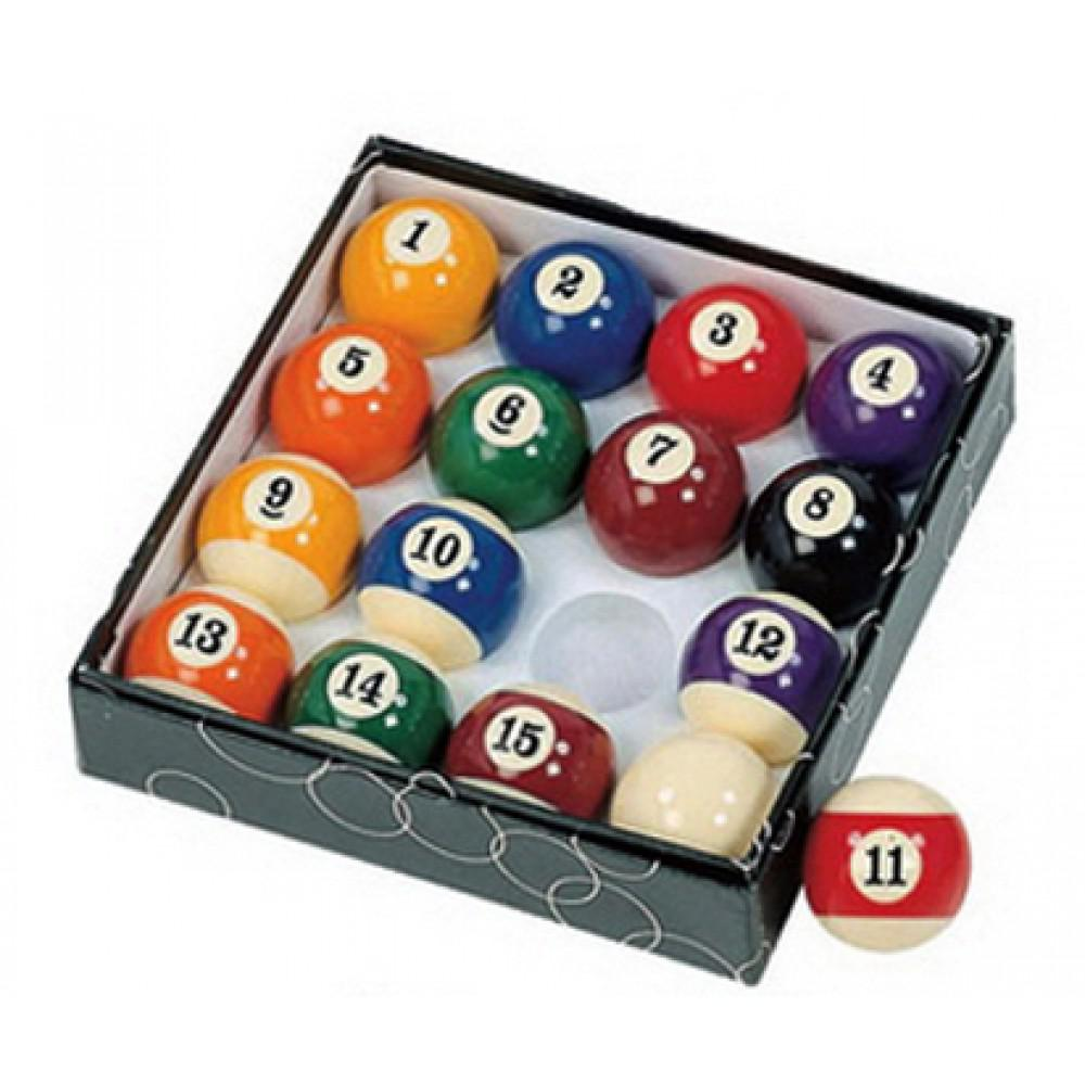 BlueWave Products POOL TABLES NG2545 Pool Table Regulation Billiard Ball Set