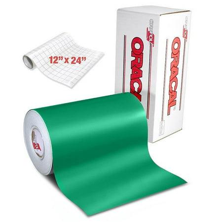 ORACAL 631 Craft Vinyl Wrap   Matte Green 6ft x 12
