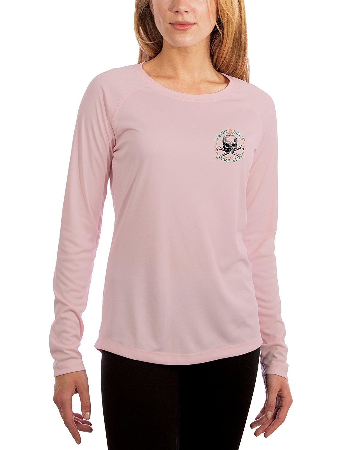 UV//Sun Protection Long Sleeve T-Shirt Neptune Women/'s UPF 50