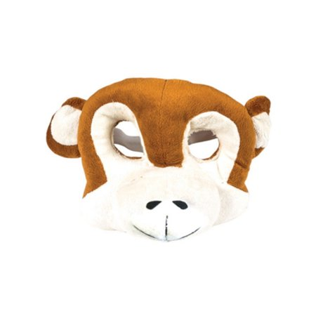 Adult Child Monkey Plush Halloween Zoo Animal Masks Costume Accessory](Zoo Animals Costumes)