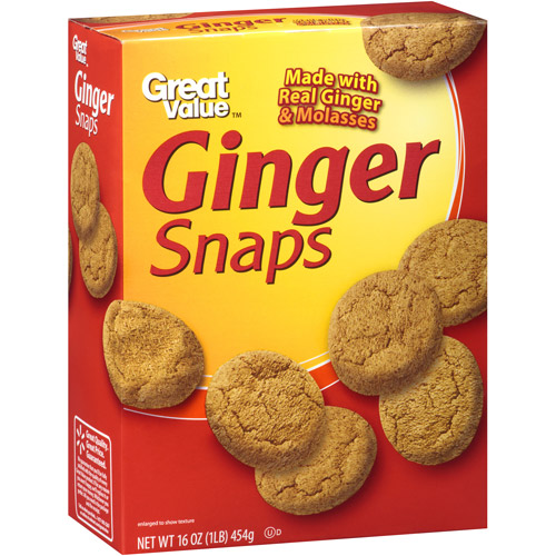 Great Value Ginger Snaps, 16 oz