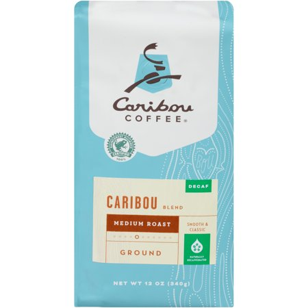 Caribou Coffee Ground Decaf Caribou Blend Medium Roast  12 0 Oz