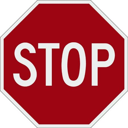 Highway Construction Signs - STOP Sign 30