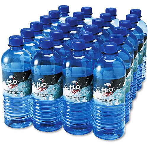 Office Snax Bottled Spring Water, 24ct