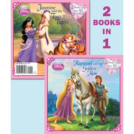Rapunzel and the Golden Rule/Jasmine and the Two Tigers (Disney Princess) - Jasmin Princess