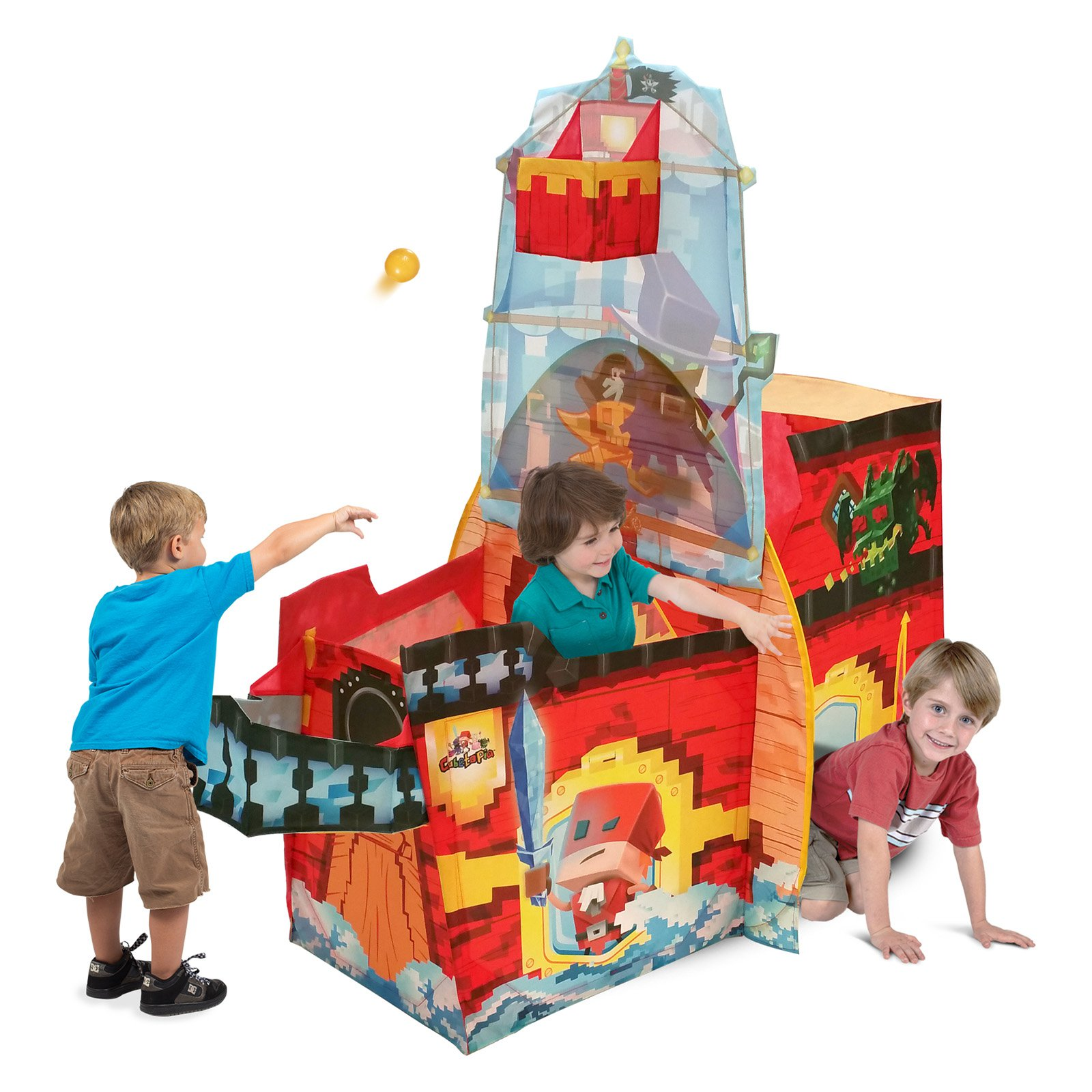 Playhut Cubetopia Pirate Ship Play Tent