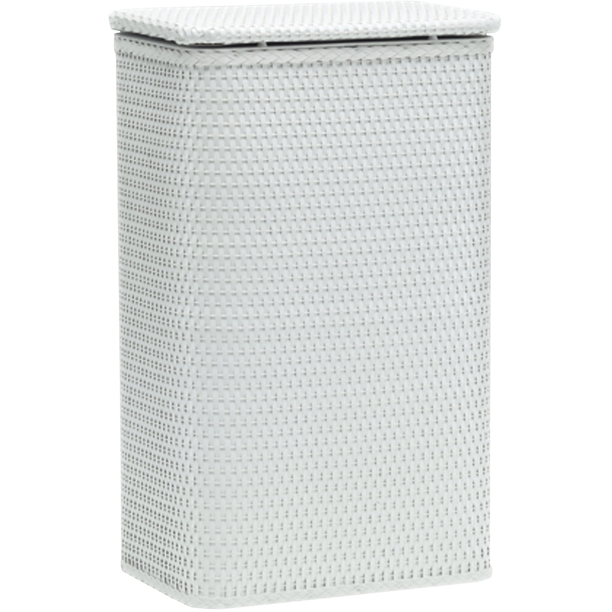 Chelsea Collection Apartment Hamper, White