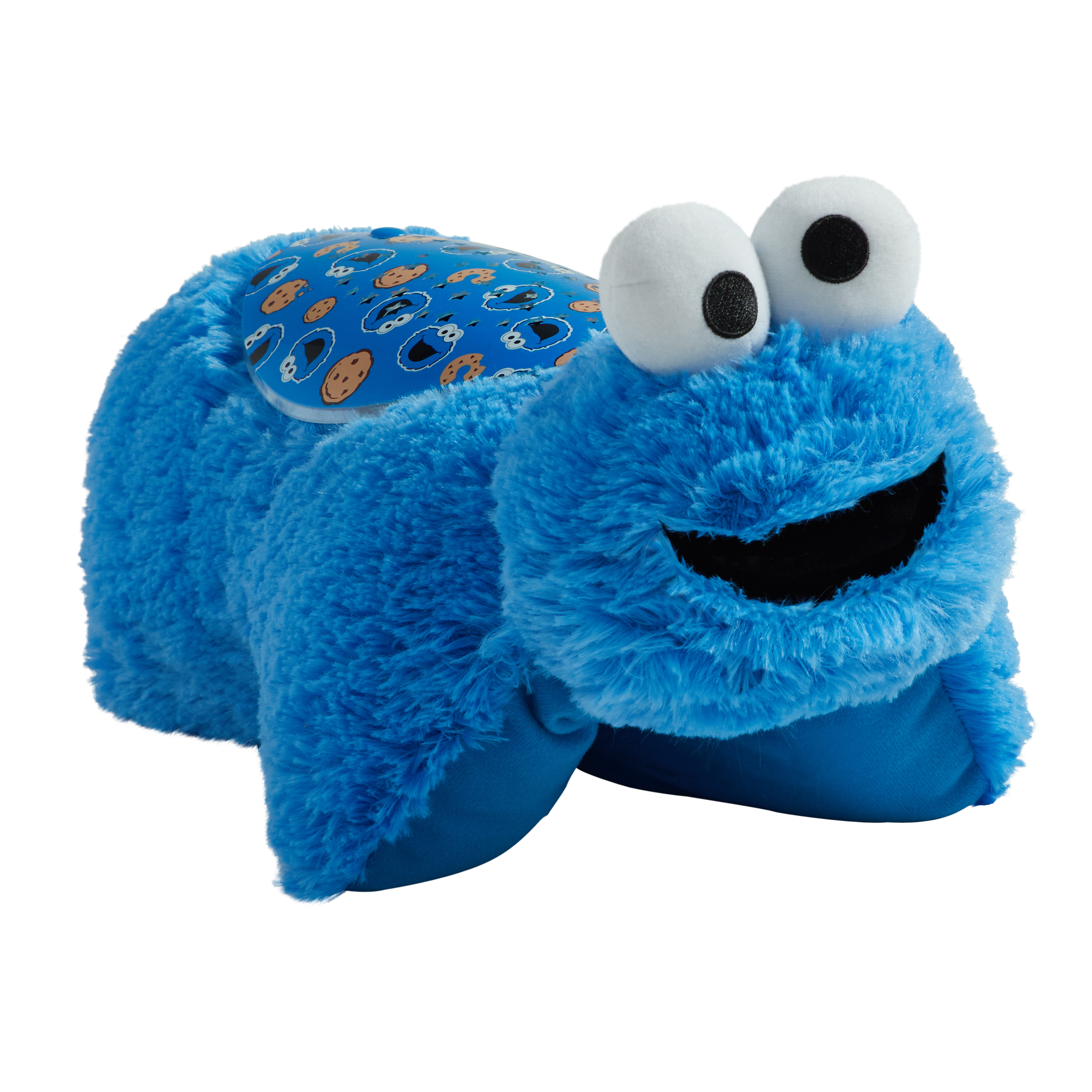 Pillow Pets Sesame Street Cookie Monster Sleeptime Lites - Cookie Monster Plush Night Light