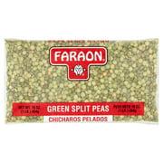 (4 Pack) Faraon Green Split Peas, 16 oz