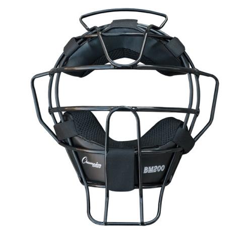 Champion Sports Umpire Face Mask - Lightweight Black