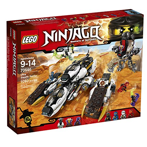 Lego Ninjago 70595 Ultra Stealth Raider Building Kit (109...