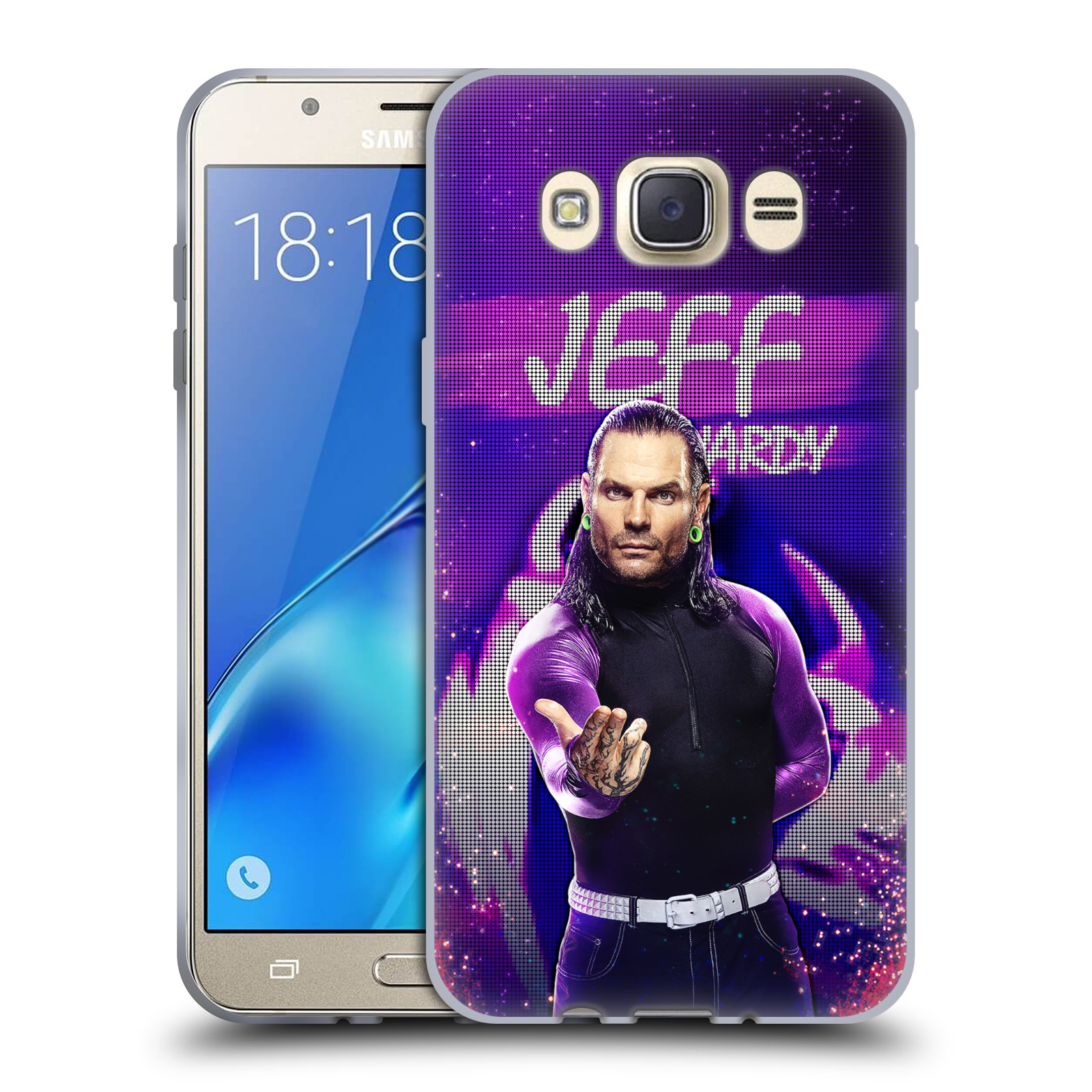 OFFICIAL WWE JEFF HARDY SOFT GEL CASE FOR SAMSUNG PHONES 2