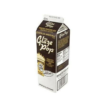 Chocolate Gold Medal Glaze Pop (28 oz. Carton)