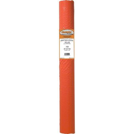 1020 Clearprint 20 lb. Vellum Roll, 24in x 5 yds.