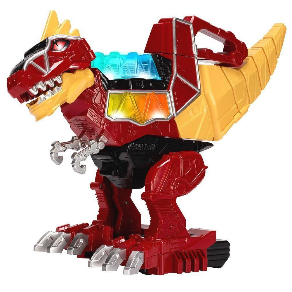 Power Rangers Dino Charge Rumble/Roar T-Rex Zord Action Figure Moves Stomps Toy Bandai 42061