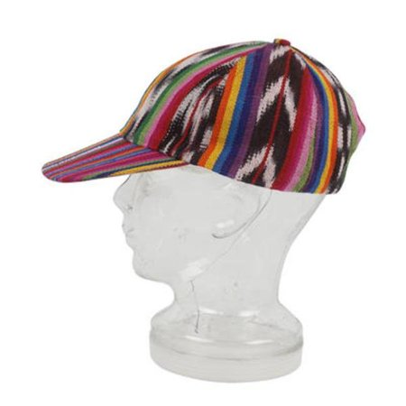 Guatemalan Style Cap - Multicolor, Case of 240 Multi 240 Caps