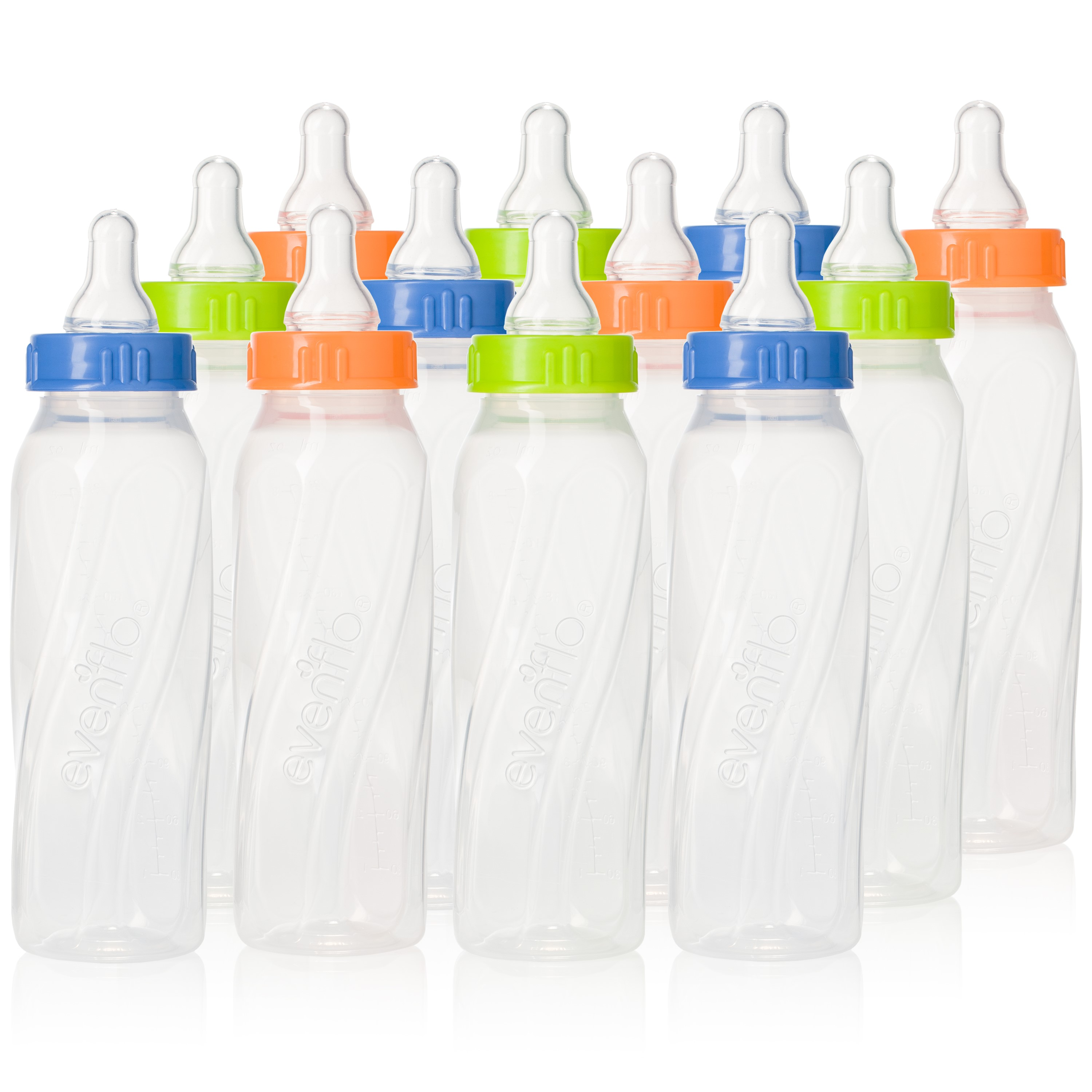 Evenflo Classic 8 oz Bottles 1 0-3 m Slow