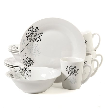 Gibson Home Netherwood Dinnerware Set, 12 Piece