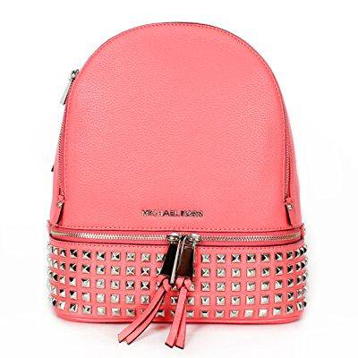 697d316bbced82 MICHAEL Michael Kors - michael kors rhea small studded backpack ...